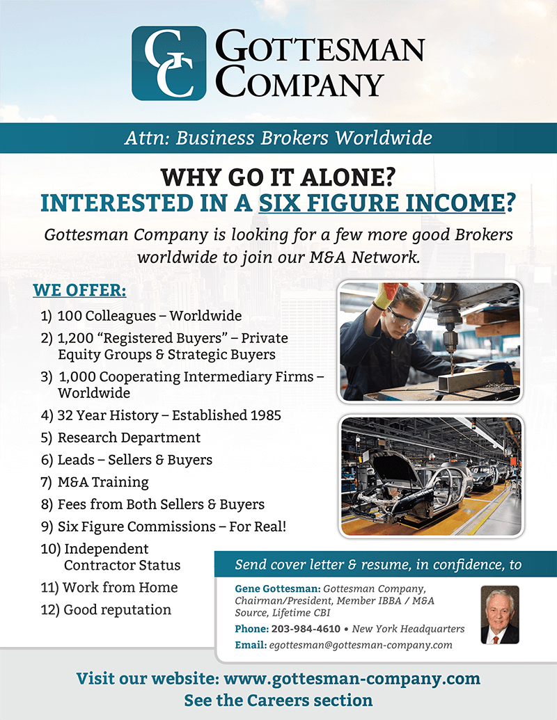 Careers Gottesman Company Business Brokers